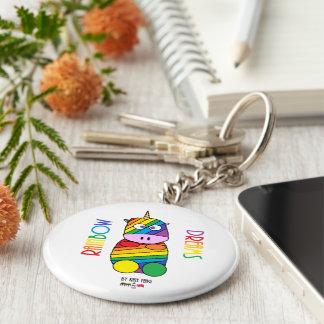 Chaveiro O arco-íris sonha Moosicorns