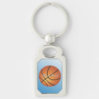 Chaveiro O basquetebol feito sob encomenda do monograma