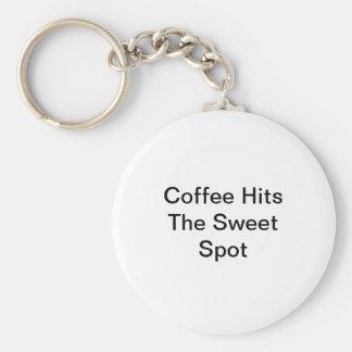 Chaveiro O café bate o ponto doce