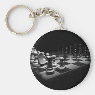 Chaveiro O conselho branco preto do rei xadrez das partes