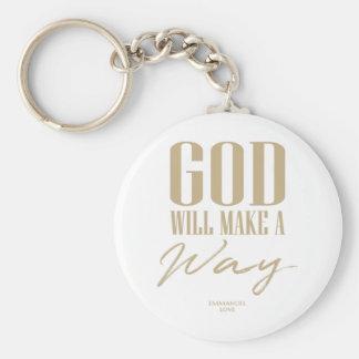 Chaveiro O deus fará uma maneira