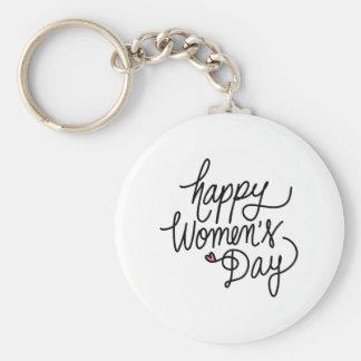 Chaveiro O dia das mulheres felizes