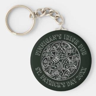 Chaveiro O dia de St Patrick entrelaçado céltico do design