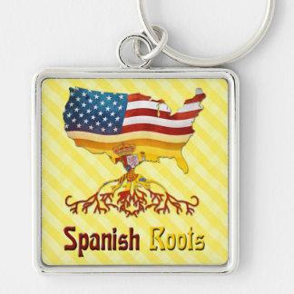 Chaveiro O espanhol americano enraíza o Keyring
