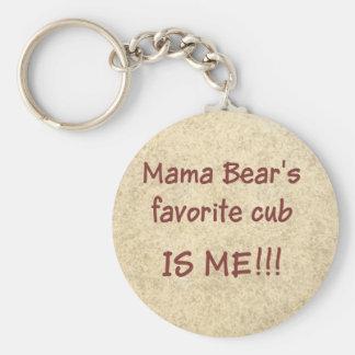 Chaveiro O filhote favorito do Mama Carregamento é MIM