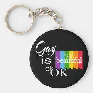 Chaveiro O gay do orgulho de LGBTQIA é ok.OK bonito. Amor
