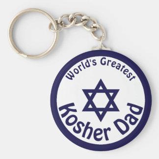 Chaveiro O grande pai Kosher do mundo