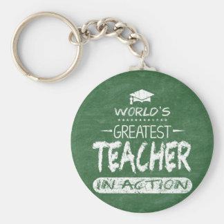 Chaveiro O grande professor do mundo na ação