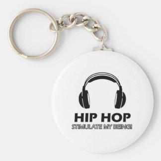 Chaveiro o hip-hop estimula-me