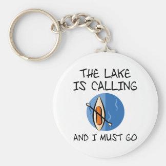 Chaveiro O lago está chamando