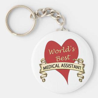 Chaveiro O melhor assistente médico do mundo