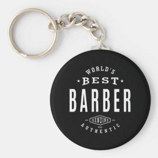 Chaveiro O melhor barbeiro do mundo