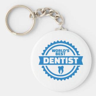 Chaveiro O melhor dentista do mundo