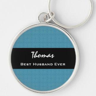 Chaveiro O melhor marido nome feito sob encomenda sempre