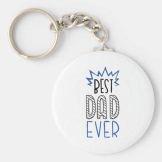 Chaveiro O melhor pai nunca