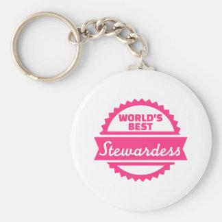 Chaveiro O melhor Stewardess do mundo