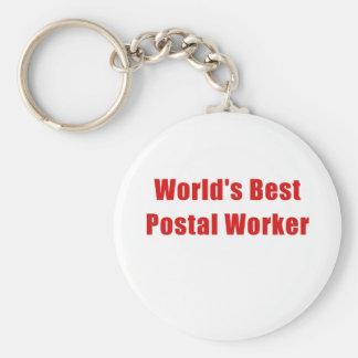 Chaveiro O melhor trabalhador postal dos mundos