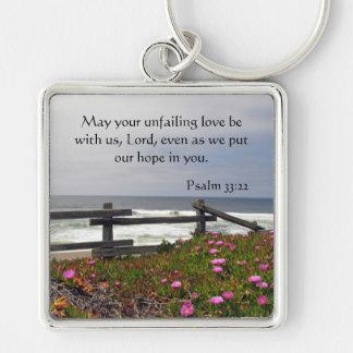 Chaveiro O oceano floresce a corrente chave do amor
