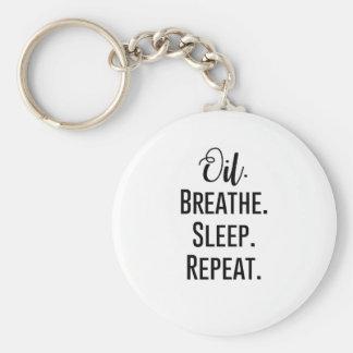 Chaveiro o óleo respira a repetição do sono - produtos