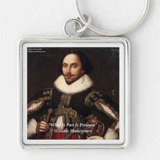 Chaveiro O passado de Shakespeare é citações do Prologue