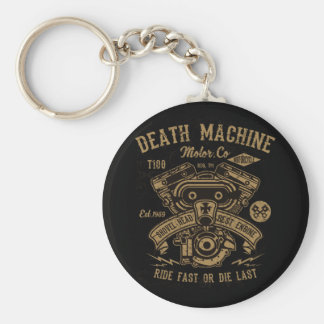 Chaveiro O passeio do motor de Harley da máquina da morte