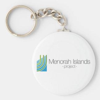 Chaveiro O projeto das ilhas de Menorah