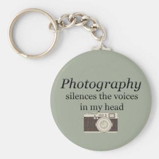 Chaveiro o pstvimhPhotography silencia as vozes em minha