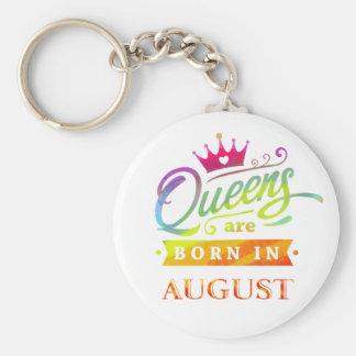 Chaveiro O Queens é em agosto presente de aniversário