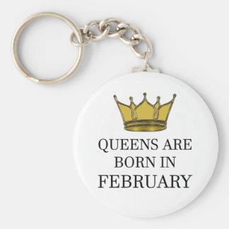 Chaveiro O Queens é nascido em fevereiro