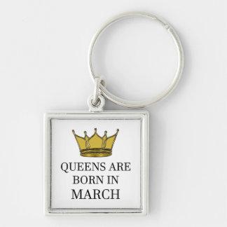 Chaveiro O Queens é nascido em março