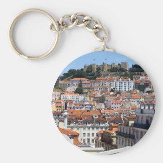 Chaveiro O Rossio e a Colina do Castelo, Lisboa, Portugal