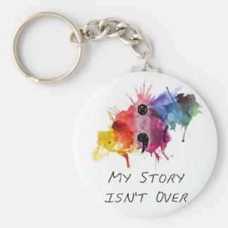 Chaveiro O semicolon minha história não se acaba