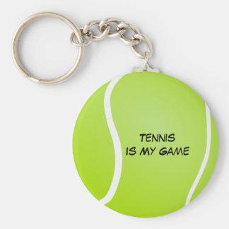 Chaveiro O tênis é meu jogo