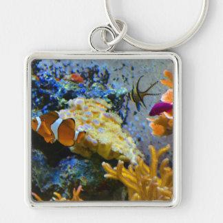 Chaveiro oceano do coral dos peixes do recife