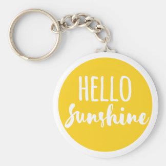 Chaveiro Olá! luz do sol