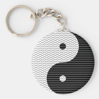 Chaveiro Ondas de Yin Yang