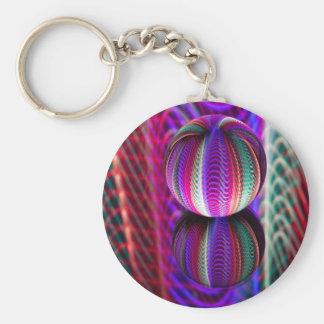 Chaveiro Ondas na bola de cristal