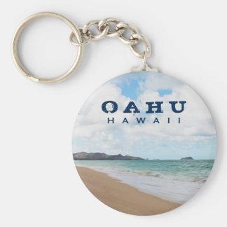 Chaveiro Ondas & praia de oceano de Oahu Havaí