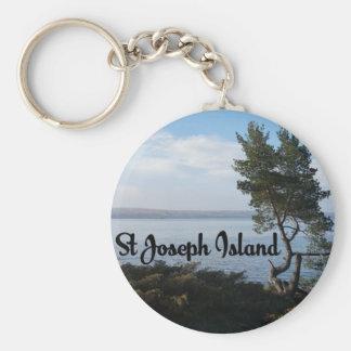 Chaveiro Opinião da ilha de St Joseph