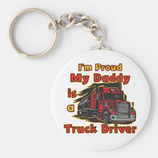 Chaveiro Orgulhoso meu pai é um camionista