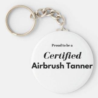 Chaveiro Orgulhoso ser um curtidor certificado do Airbrush