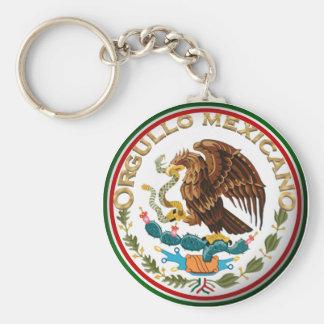 Chaveiro Orgullo Mexicano (Eagle da bandeira mexicana)