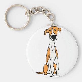 Chaveiro Original bonito dos desenhos animados do cão do