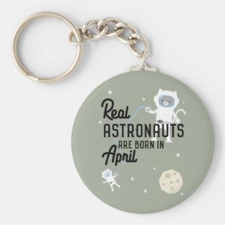 Chaveiro Os astronautas são em abril Zg6v6 nascidos