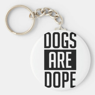 Chaveiro Os cães são narcótico