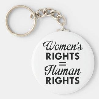 Chaveiro Os direitos das mulheres são direitos humanos