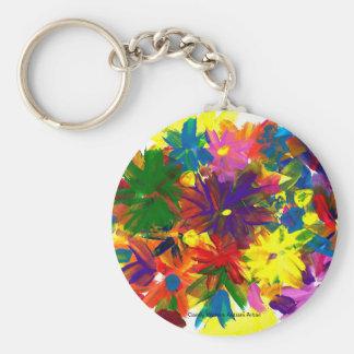 Chaveiro Os doces molham o artista do autismo