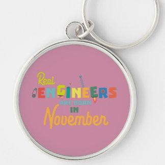 Chaveiro Os engenheiros são em novembro Z9g4h nascidos