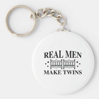 Chaveiro Os homens reais fazem gêmeos