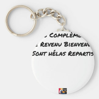 CHAVEIRO OS MEUS COMPLEMENTOS DE RENDIMENTO BEM-VINDOS SÃO